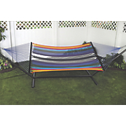 bliss oversized multicolor rope hammock