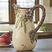 wonderland pitcher by fitz and floyd