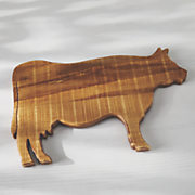 cow wood board