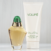 volupte 2 pc  set for her by oscar de la renta
