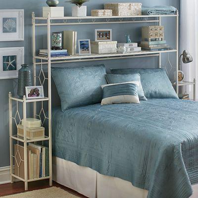 Diamond Over-The-Bed Organizer