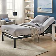 adjustable bed frame   xl twin mattress