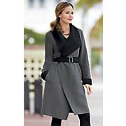 rio reversible wool coat
