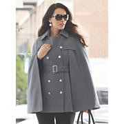 capelet trench coat