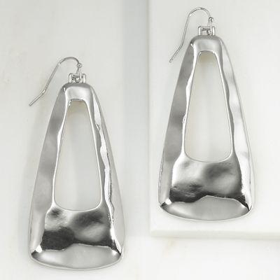 Fluid-Metal Earrings