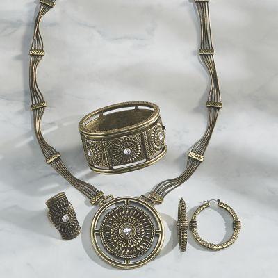 Crystal/Medallion Jewelry