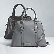 buckle satchel