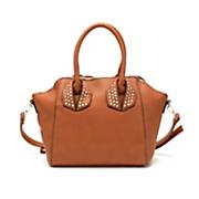 studded satchel