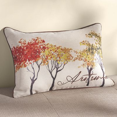 Autumn Art Pillow
