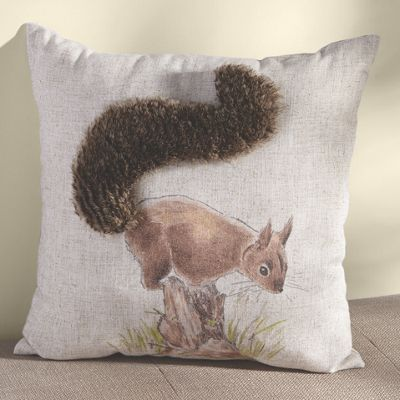 Bushy-Tail Pillow