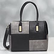 colorblock satchel 13