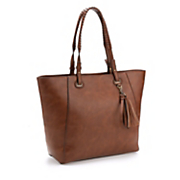 must have tote with tassel
