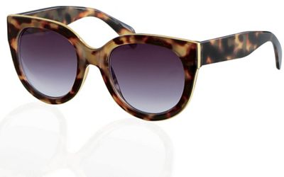 Metal-Inlay Sunglasses