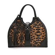 leopard satchel