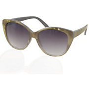 olive cat eye sunglasses