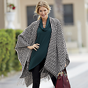 houndstooth wrap
