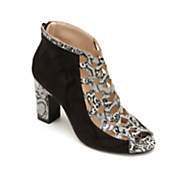 animal lattice bootie by midnight velvet