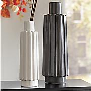 gray vase