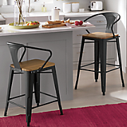 farmhouse bar and counter stool