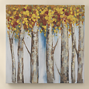 birch tree art