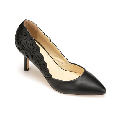 Jade Cutout Pump by Monroe and Main