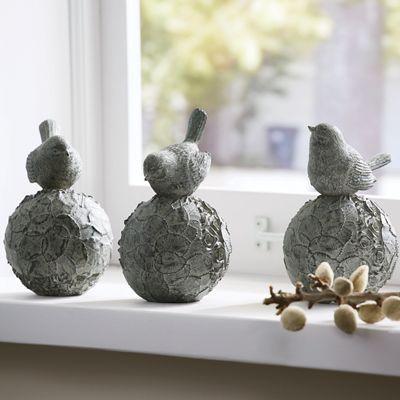 Set of 3 Topiary Birds