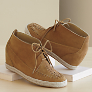 moccasin wedge bootie by monroe and main