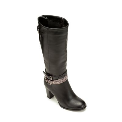 Braid-Buckle Boot by Monroe and Main