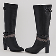 braid buckle boot by monroe and main