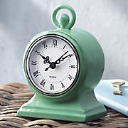 green mod clock