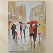 umbrella people canvas