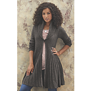 sylvia shawl collar sweater