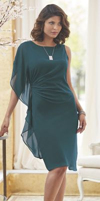 Sarah Side Drape Dress