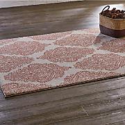 emerson coral rug