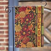 welcome fall flag