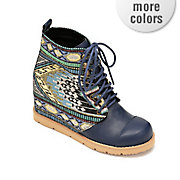 warby wedge bootie by mojo moxy