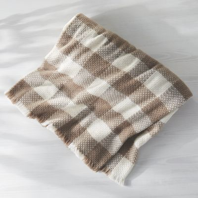 Plaid Woven Blanket
