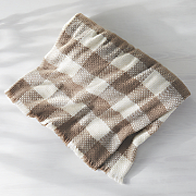 plaid woven blanket
