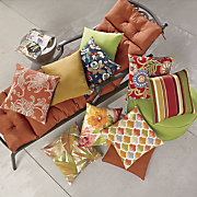 outdoor cushion collection and accessories