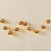 glass pumpkin light strand