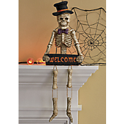 welcome skeleton
