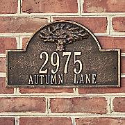 personalized oak tree plaque