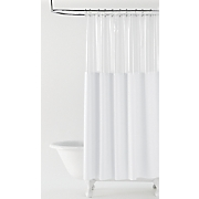 crystal view shower curtain