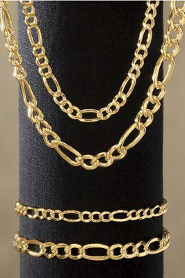 Figaro Necklace & Bracelet