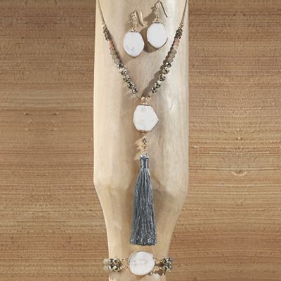 White Agate Jewelry