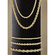 rope necklace   bracelet