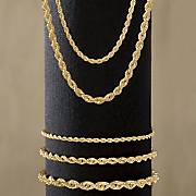 rope necklace   bracelet