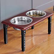 posture pro double diner pet feeder