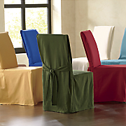 solid chair slipcover