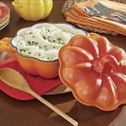 1 85 qt  cast iron pumpkin casserole